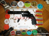 """Револьвер стартовый, сигнальный Ekol Viper 6,0"""" Черный."""