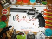 """Револьвер стартовый, сигнальный Ekol Viper 6,0"""" Графит."""