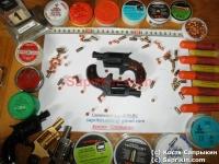 Револьвер стартовый, сигнальный ROHM Little Joe Черный.