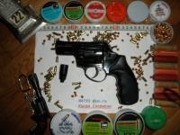 Револьвер стартовый, сигнальный Ekol Viper 2.5. Черный. (Б.У)