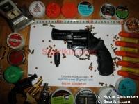 Револьвер стартовый, сигнальный Ekol Viper 2.5. Черный.