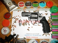Револьвер стартовый, сигнальный Ekol Viper 2.5. Графит.