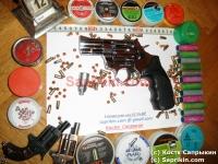 Револьвер стартовый, сигнальный Ekol Viper 2.5. Хром.