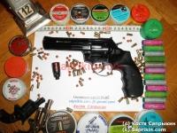 Револьвер стартовый, сигнальный Ekol Viper 4.5. Черный. (Б.У.)