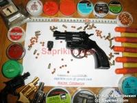 Револьвер стартовый, сигнальный Bruni Olympic-6 с пластиковой рукояткой.