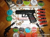 Пистолет стартовый, сигнальный Marko mod. RK-98/219. Копия Glock-19