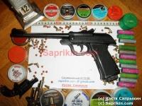 Пистолет пневматический пружинно-поршневой Predom-Lucznik WZ.1970.