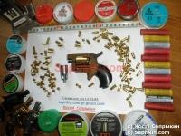 Револьвер стартовый, сигнальный Ekol Arda. Позолоченный (999 проба)