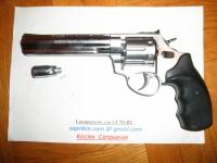"""Револьвер стартовый, сигнальный Ekol Viper 6,0"""" Белый."""