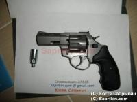 Револьвер стартовый, сигнальный Zoraki R1 Mod.K-6L (3,0) Графит. LOM-S.